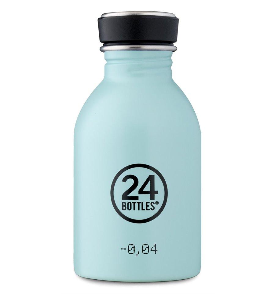 Afbeelding van 24Bottles Drinkfles Urban Bottle Cloud Blue 250 ml