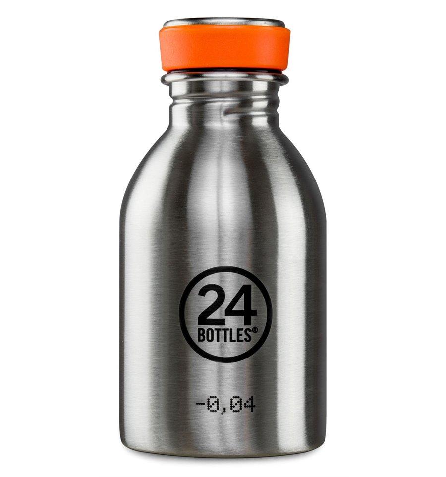 Afbeelding van 24Bottles Drinkfles Urban Bottle Steel 250 ml