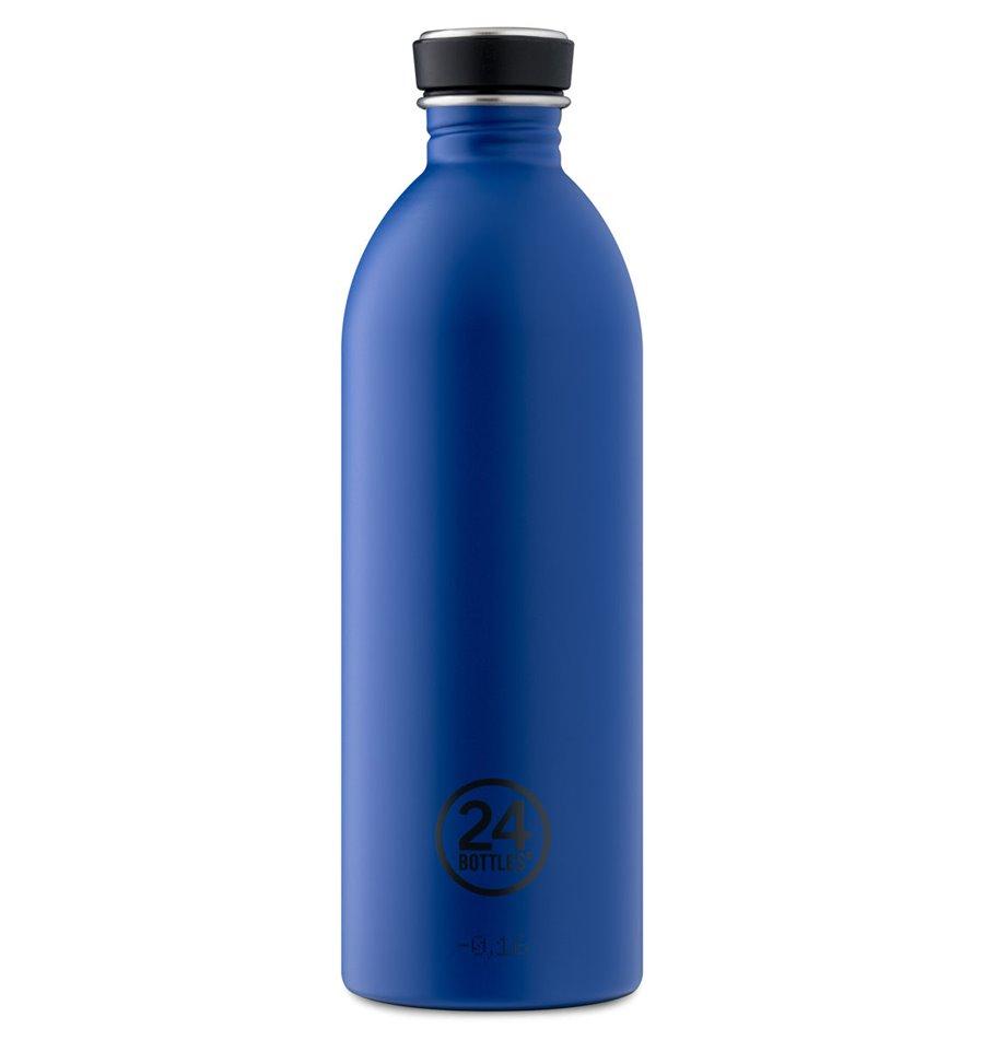 Afbeelding van 24Bottles Drinkfles Urban Bottle Gold Blue 1 liter