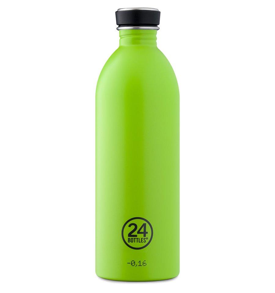 Afbeelding van 24Bottles Drinkfles Urban Bottle Lime Green 1 liter