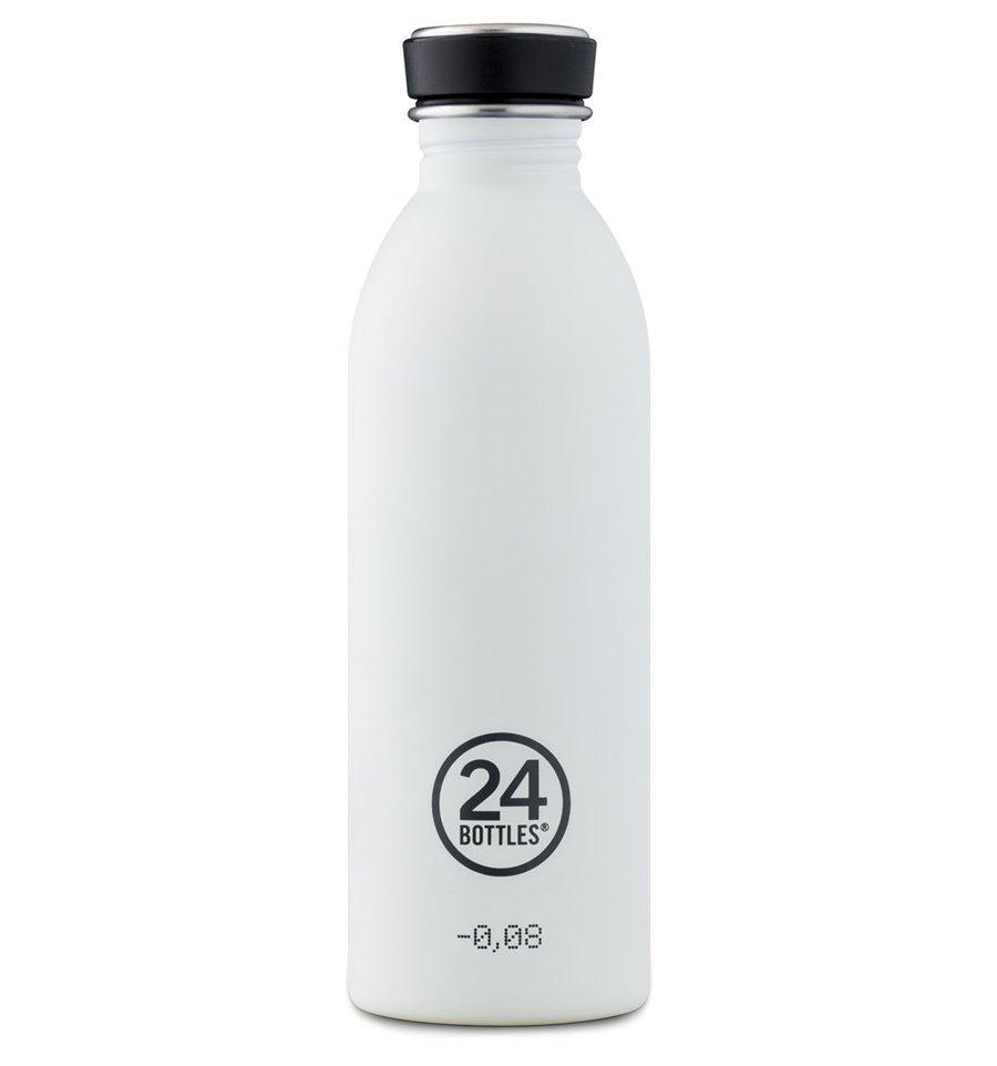 Afbeelding van 24Bottles Drinkfles Urban Bottle Ice White 500 ml