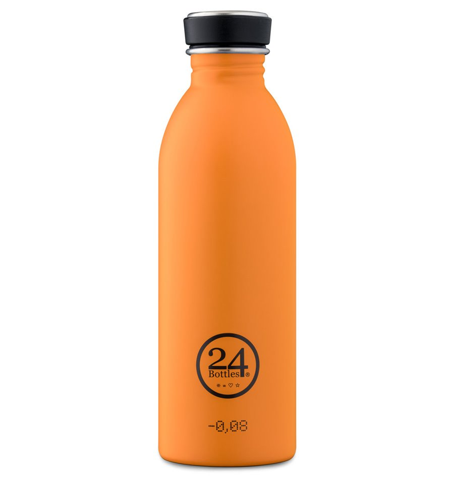 Afbeelding van 24Bottles Drinkfles Urban Bottle Total Orange 500 ml