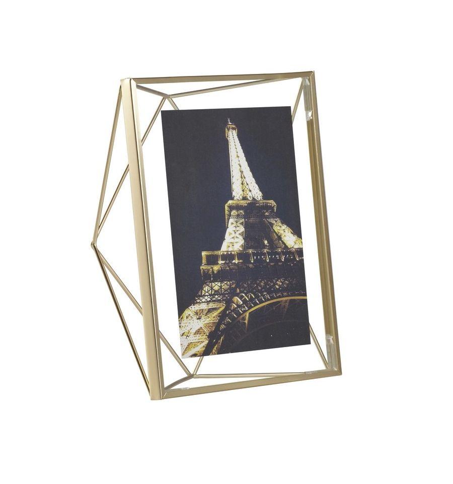 Afbeelding van Umbra fotolijst Prisma voor 10 x 15 cm Messing